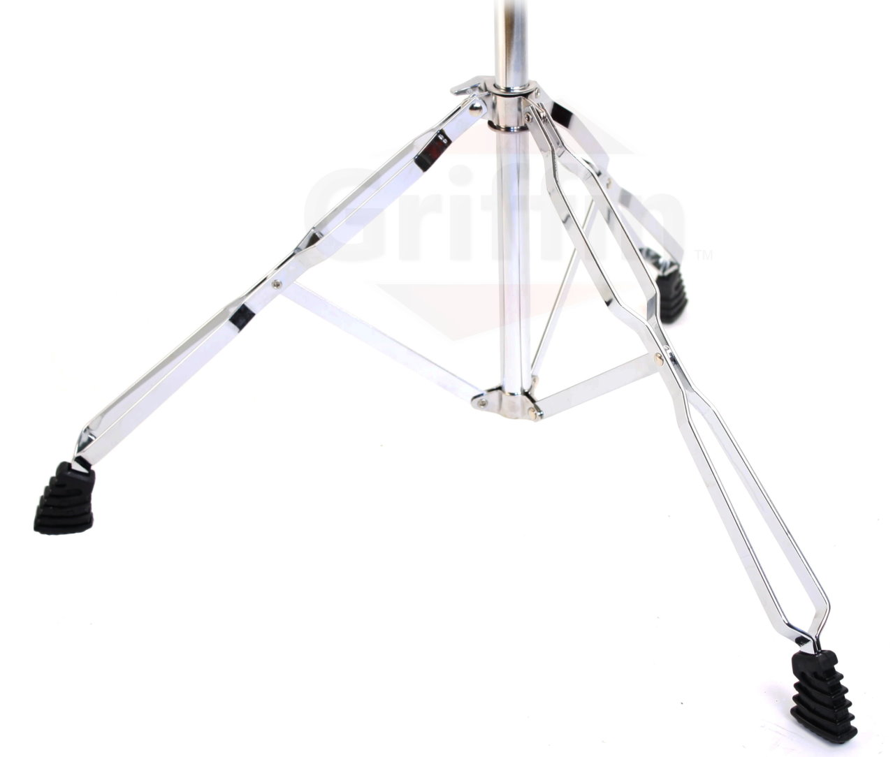 cymbal boom stand straight cymbal stand combo pack of 2 by griffin percussion drum. Black Bedroom Furniture Sets. Home Design Ideas