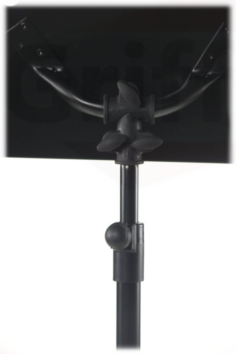 Conductor Music Stand Sheet Metal Folding Deluxe Holder By