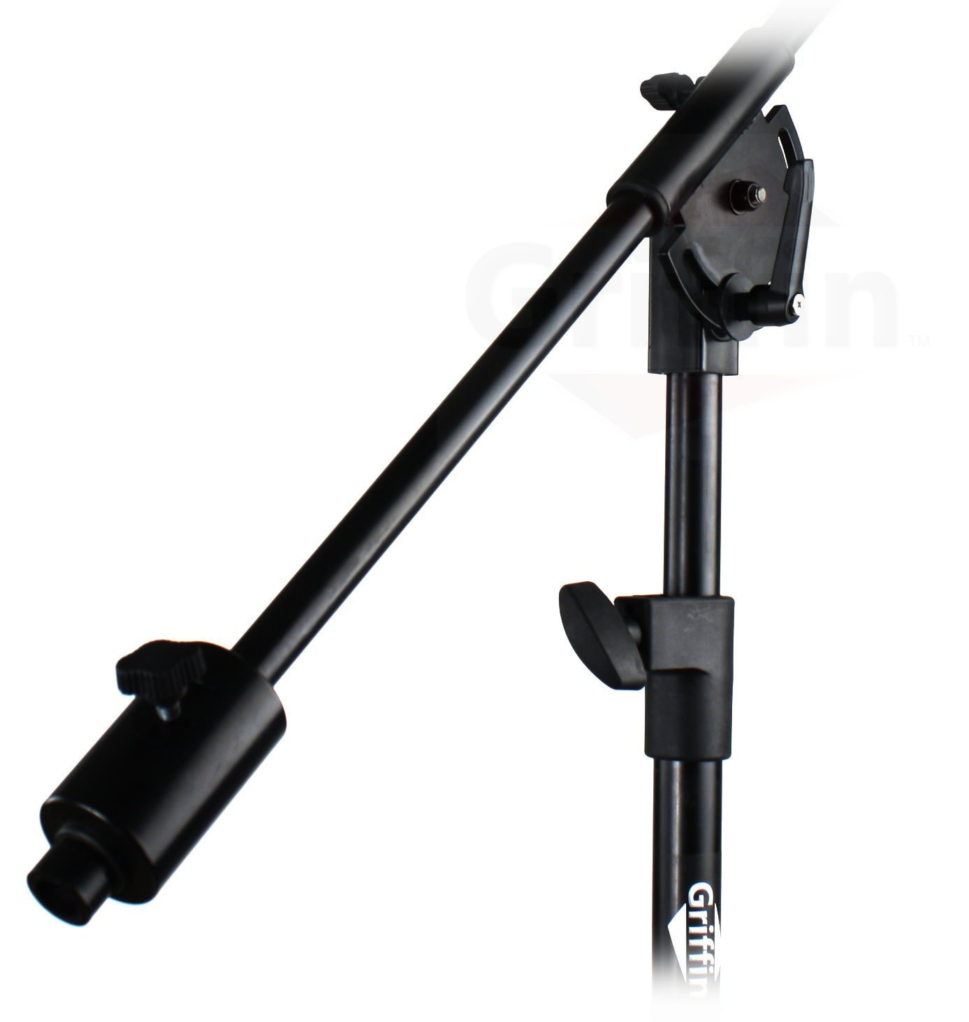 Professional Studio Rolling Microphone Boom Stand With