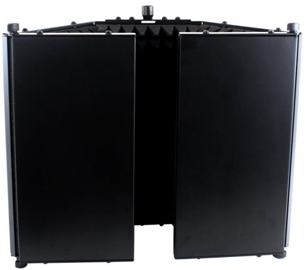 Studio microphone soundproofing acoustic foam panel by for Best sound barrier insulation