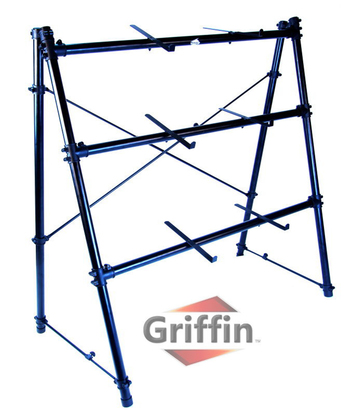 3 Tier Keyboard Stand by Griffin|Triple A-Frame Standing Synthesizer ...