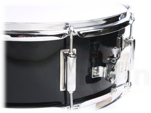 MS14Black-Black-Snare-Drum