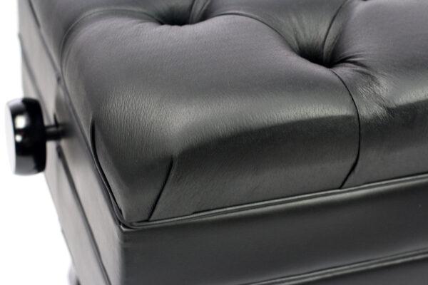 APRL103-Black-adjustable-piano-bench