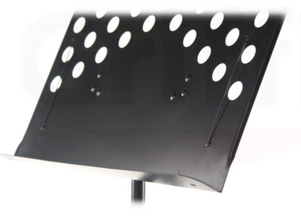 2-Pack-Music-Stand-Deluxe-CONDUCTOR-Sheet-Metal-Tripod-Folding-Stage-Holder-B008XMBWSQ-3