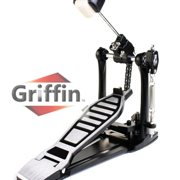 Complete-Drum-Hardware-Pack-6-Piece-Set-by-Griffin-Full-Size-Percussion-Stand-Kit-with-Snare-Hi-Hat-Cymbal-Boom-Thr-B00584ZKAS-2