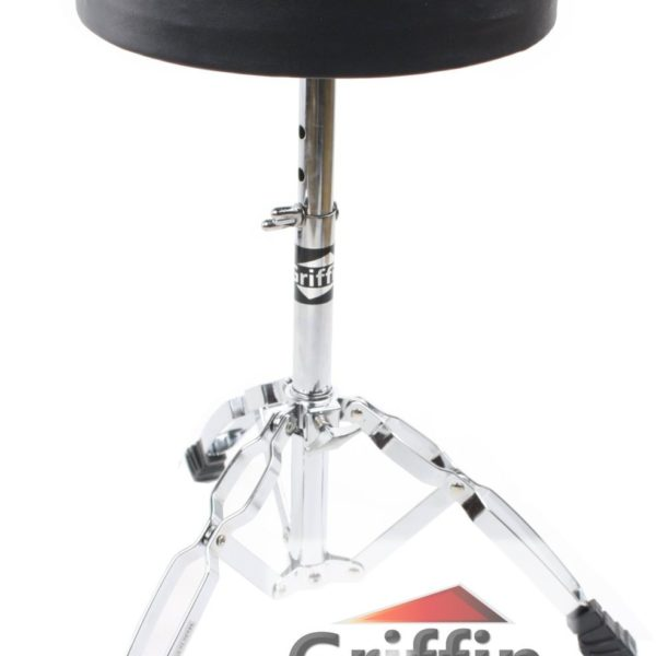 Complete-Drum-Hardware-Pack-6-Piece-Set-by-Griffin-Full-Size-Percussion-Stand-Kit-with-Snare-Hi-Hat-Cymbal-Boom-Thr-B00584ZKAS-3