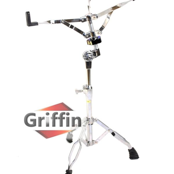 Complete-Drum-Hardware-Pack-6-Piece-Set-by-Griffin-Full-Size-Percussion-Stand-Kit-with-Snare-Hi-Hat-Cymbal-Boom-Thr-B00584ZKAS-4