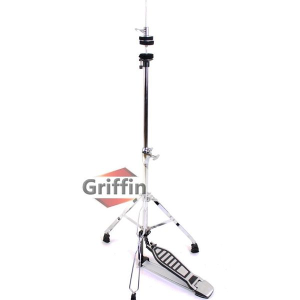 Complete-Drum-Hardware-Pack-6-Piece-Set-by-Griffin-Full-Size-Percussion-Stand-Kit-with-Snare-Hi-Hat-Cymbal-Boom-Thr-B00584ZKAS-5