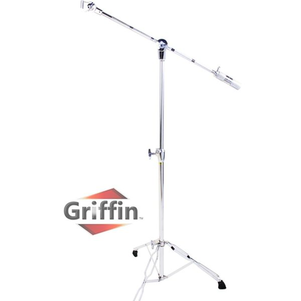 Complete-Drum-Hardware-Pack-6-Piece-Set-by-Griffin-Full-Size-Percussion-Stand-Kit-with-Snare-Hi-Hat-Cymbal-Boom-Thr-B00584ZKAS-6