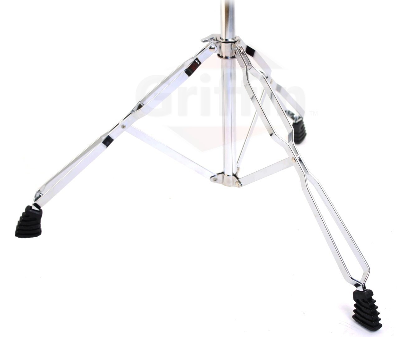 cymbal stand with boom arm by griffin pack of 2 drum percussion gear hardware set with. Black Bedroom Furniture Sets. Home Design Ideas