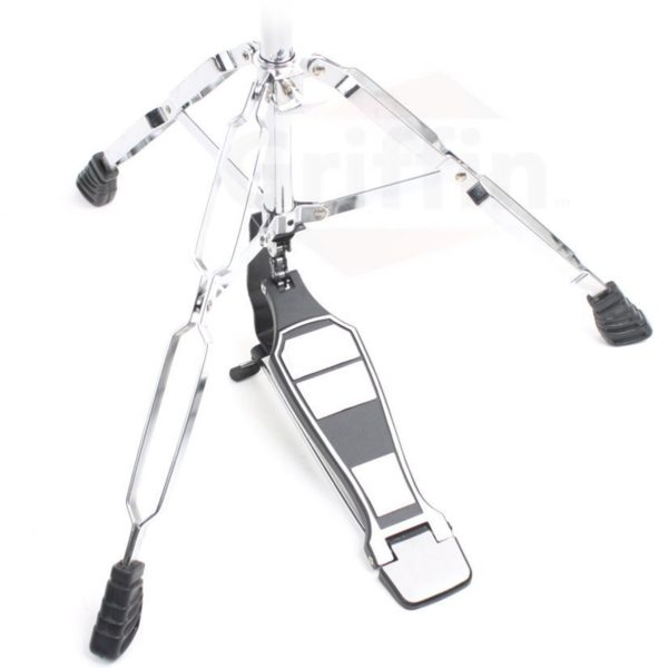 Deluxe-Hi-Hat-Stand-by-Griffin-Hi-Hat-Cymbal-Pedal-With-Drum-Key-HiHat-Mount-with-Double-Braced-Hardware-Accessory-S-B005TY7CA8-2