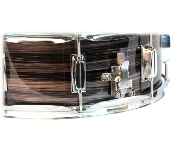 Deluxe-Snare-Drum-by-Griffin-14-x-55-Poplar-Wood-Shell-with-Zebra-PVC-Glossy-Finish-Percussion-Musical-Instrument-B005TY7DXY-2