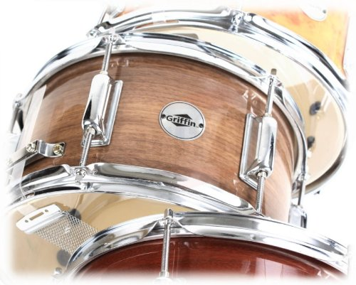 Firecracker-Snare-Drum-by-GriffinSoprano-Popcorn-10-x-6-Poplar-Wood-Shell-Black-Hickory-PVCConcert-Percussion-Musi-B00A7K7BLO-3