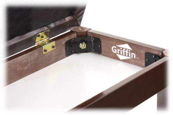 Griffin-Double-Brown-Leather-Piano-Bench-Vintage-Design-Heavy-Duty-Ergonomic-Keyboard-Stool-Comfortable-Double-Due-B004THENN0-4