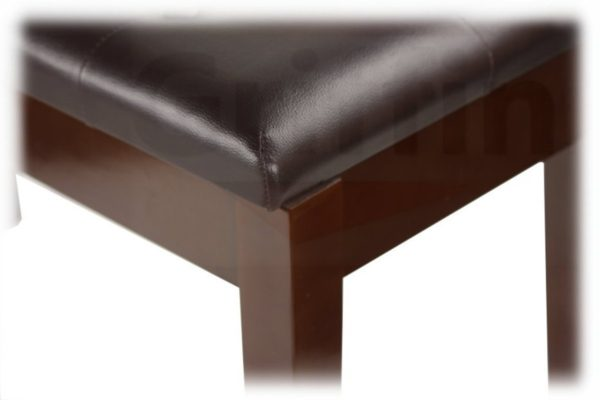 Griffin-Double-Brown-Leather-Piano-Bench-Vintage-Design-Heavy-Duty-Ergonomic-Keyboard-Stool-Comfortable-Double-Due-B004THENN0-5