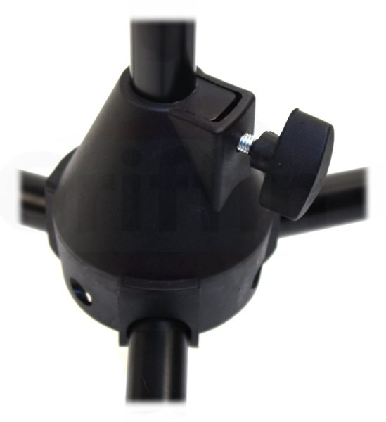 Microphone-Boom-Stand-Package-with-Cardioid-Vocal-Microphones-XLR-Mic-Cables-Pack-of-6-by-Griffin-Telescoping-Arm-B0057RVEQA-5