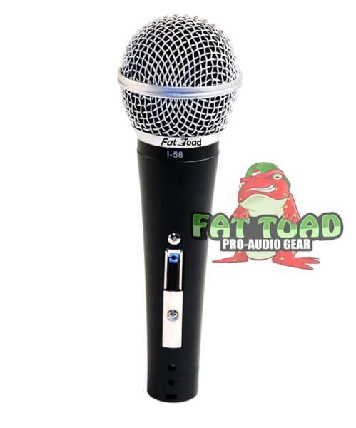 Microphone-Boom-Stand-Package-with-Cardioid-Vocal-Microphones-XLR-Mic-Cables-Pack-of-6-by-Griffin-Telescoping-Arm-B0057RVEQA-8