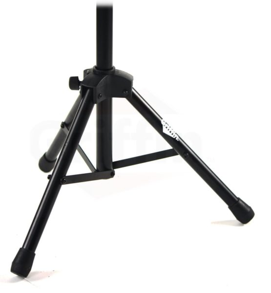 Music-Stand-Deluxe-CONDUCTOR-Sheet-Metal-Tripod-Folding-Stage-Holder-Griffin-B004THBJ7S-2