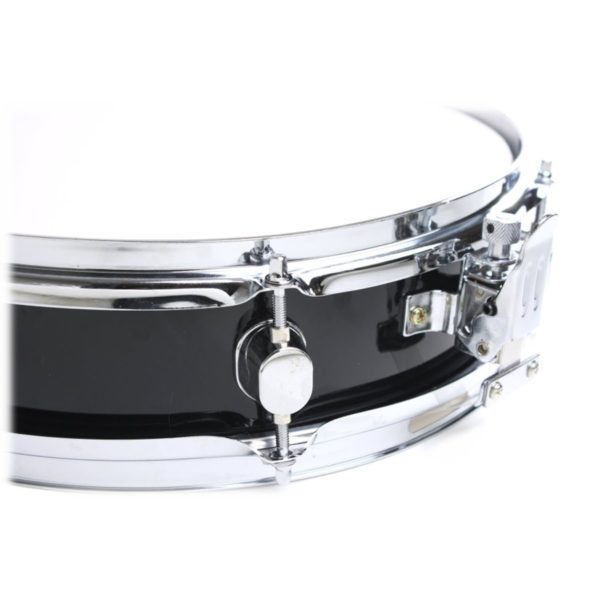 Piccolo-Snare-Drum-13-x-35-by-Griffin-100-Poplar-Wood-Shell-with-Black-Finish-and-Coated-Drum-Head-Professional-B005TY7CYO-2