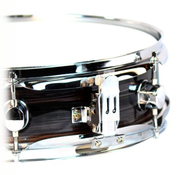 Piccolo-Snare-Drum-13-x-35-by-Griffin-100-Poplar-Wood-Shell-with-Zebra-Wood-Finish-and-Coated-Drum-Head-Professi-B00A7K7F3S-2