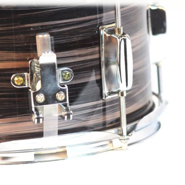 Popcorn-Snare-Drum-by-Griffin-Firecracker-10-x-6-Poplar-Shell-with-Zebra-Wood-PVCSoprano-Concert-Percussion-Musical-B00A7K7DL2-2
