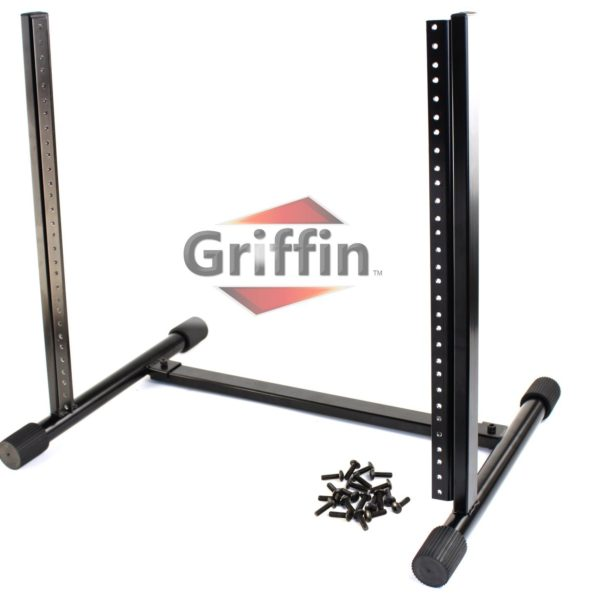 Rack-Mount-Stand-with-10-Spaces-by-Griffin-Music-Studio-Recording-Equipment-Mixer-Standing-Case-RackMount-Audio-Netw-B004THBHR0