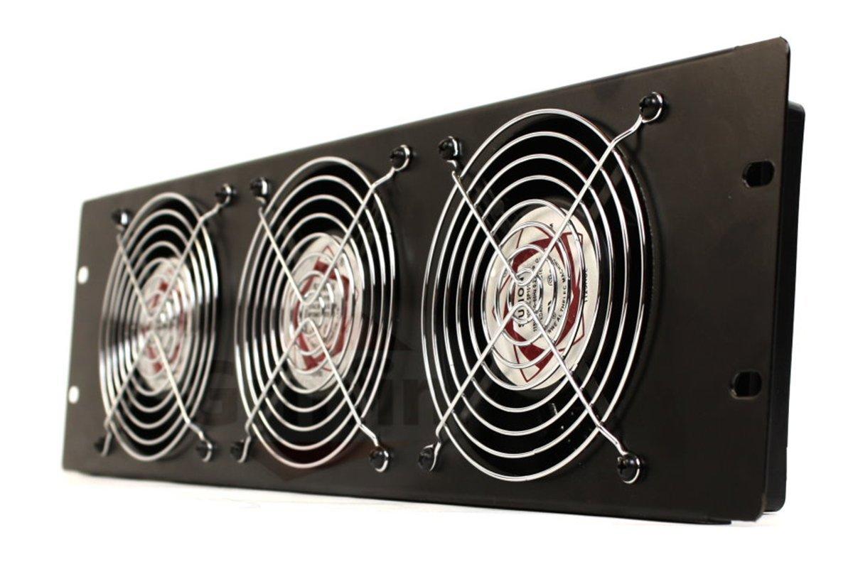 Rackmount Cooling Fan By Griffin  U2013 3u Ultra