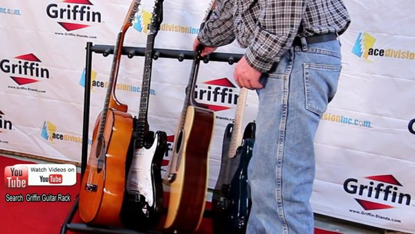 Seven-Guitar-Rack-Stand-by-Griffin-Holder-for-7-Guitars-Folds-Up-For-Electric-Acoustic-Classical-Guitar-Bass-B0064EGIE8-4