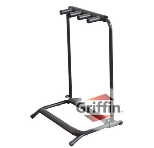 Three-Guitar-Rack-Stand-by-Griffin-Holder-for-3-Guitars-Folds-Up-For-Electric-Acoustic-Classical-Guitar-Bass-B004THB99Q