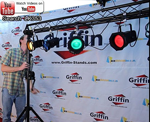 Triangle-Truss-Extension-by-Griffin-5Ft-Extra-Trussing-Section-for-DJ-Lighting-System-Stand-Mount-Light-Cans-Sound-B071ZNF7ZC-3