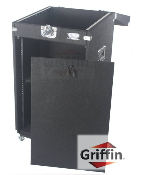 Ultimate-Rackmount-Studio-Mixer-Cabinet-Road-Case-By-Griffin-25U-Space-Saving-Pro-Audio-Stand-Equipment-Travel-Flight-B004THBG3A