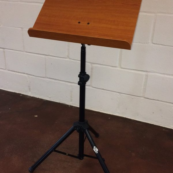 Wood-Music-Stand-by-Griffin-Deluxe-CONDUCTOR-Sheet-Holder-with-Metal-Tripod-Folding-Legs-For-Stage-Performance-Pro-B0716Z7D8J-5